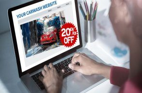 Car wash marketing and online presence
